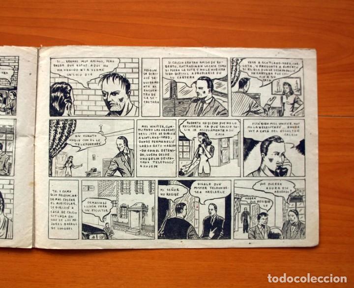 Tebeos: Policiaca, nº 1 -,El misterioso caso de Arsenio Lexdell - Bergis Mundial años 40 - Tamaño 21x31 - Foto 6 - 98876663