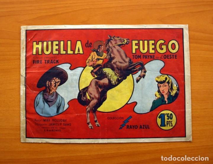 TOM PAYNE, Nº 1 - HUELLA DE FUEGO - EDITORIAL FIAC 1946 - TAMAÑO 22X31 (Tebeos y Cómics - Números 1)