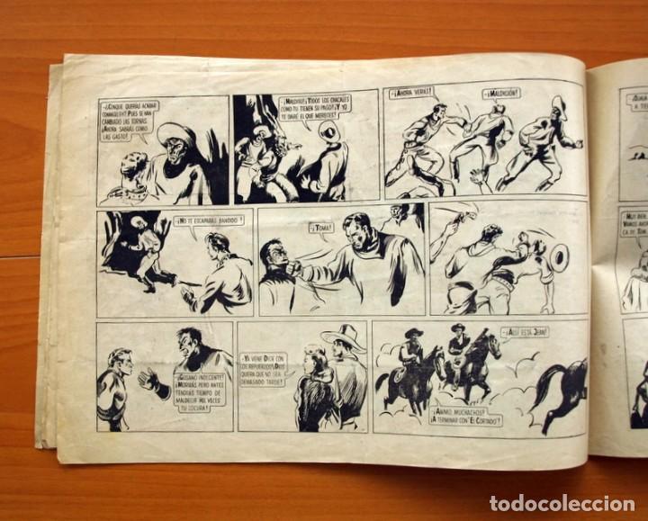 Tebeos: Tom Payne, nº 1 - Huella de fuego - Editorial Fiac 1946 - Tamaño 22x31 - Foto 5 - 98908675