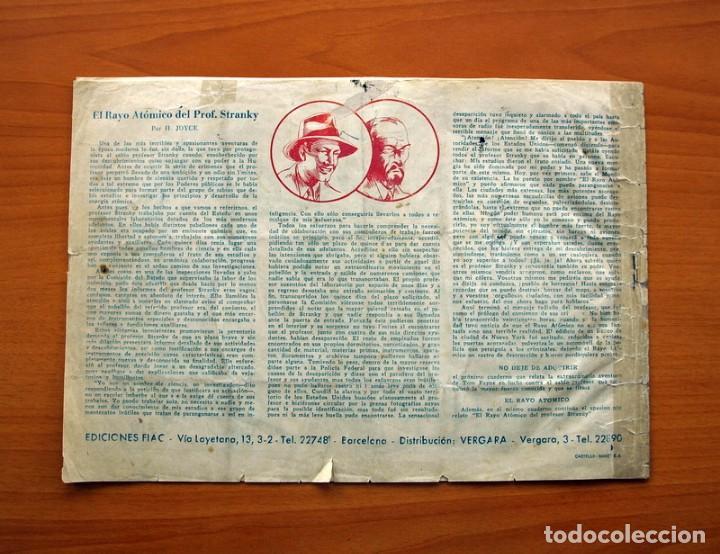 Tebeos: Tom Payne, nº 1 - Huella de fuego - Editorial Fiac 1946 - Tamaño 22x31 - Foto 7 - 98908675
