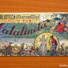 Tebeos: BIBLIOTECA MARAVILLAS, COLECCIÓN RUBI - Nº 1, CATALINETA - TALLERES OFFSET AÑOS 40 - TAMAÑO 12X21. Lote 99536947