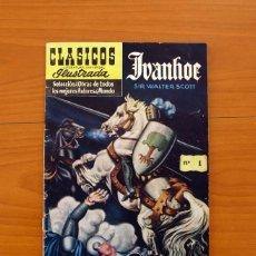 Tebeos: CLÁSICOS LITERATURA UNIVERSAL ILUSTRADA - Nº 1, IVANHOE - ERSA, EDICIONES RECREATIVAS 1953. Lote 99662263
