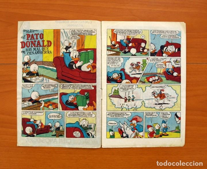 Tebeos: Colección Bongo - Donald - nº 1, Hay mal que cien años dura - Ediciones Recreativas 1949 - Foto 2 - 99662671