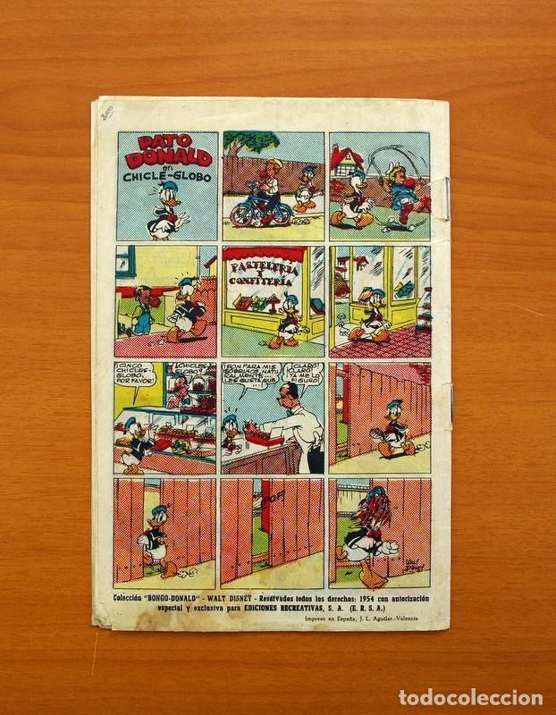 Tebeos: Colección Bongo - Donald - nº 1, Hay mal que cien años dura - Ediciones Recreativas 1949 - Foto 7 - 99662671