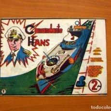 Tebeos: COMANDANTE HANS - Nº 1, EDITORIAL ANDALUZA 1961 - TAMAÑO 17X24. Lote 99662883