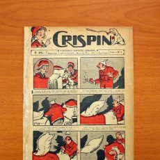Tebeos: CRISPIN - Nº 1, EDITORIAL GATO NEGRO 1922 - TAMAÑO 21X15'5. Lote 99663275