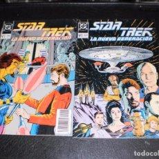 Tebeos: STAR TREK LA NUEVA GENERACION Nº 1 Y 2 - PLANETA. Lote 99729003