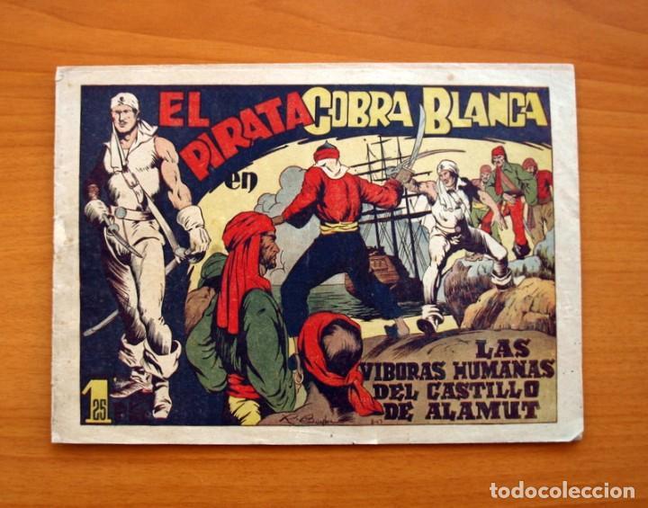 EL PIRATA COBRA BLANCA - Nº 1, LAS VIBORAS HUMANAS DEL CASTILLO DE ALAMUT - EDITORIAL CIES 1949 (Tebeos y Cómics - Números 1)