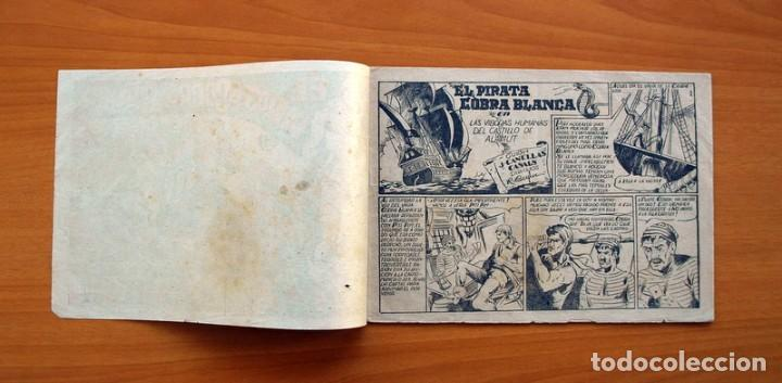 Tebeos: El pirata Cobra Blanca - nº 1, Las viboras humanas del castillo de Alamut - Editorial Cies 1949 - Foto 2 - 100024631