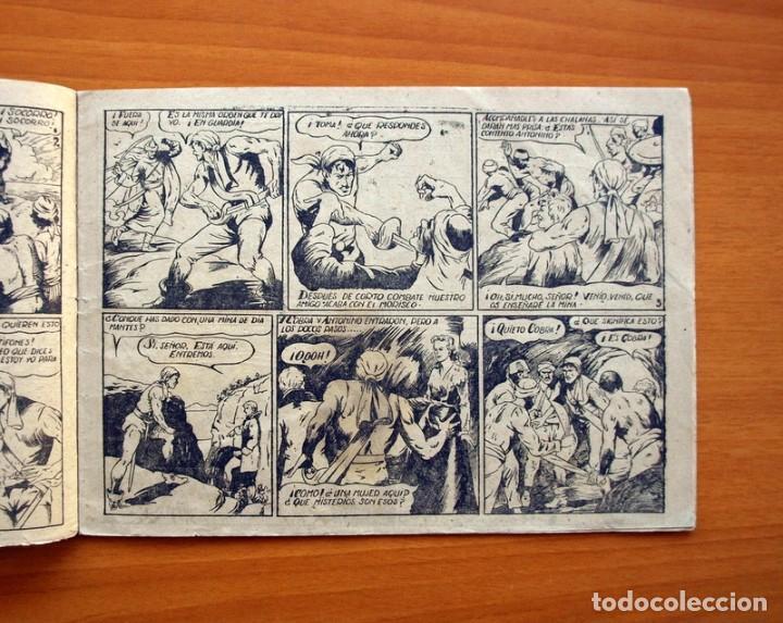 Tebeos: El pirata Cobra Blanca - nº 1, Las viboras humanas del castillo de Alamut - Editorial Cies 1949 - Foto 3 - 100024631