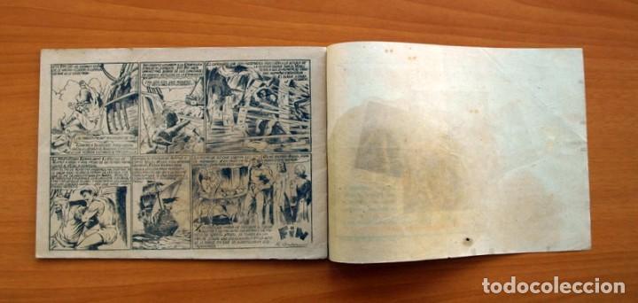 Tebeos: El pirata Cobra Blanca - nº 1, Las viboras humanas del castillo de Alamut - Editorial Cies 1949 - Foto 6 - 100024631