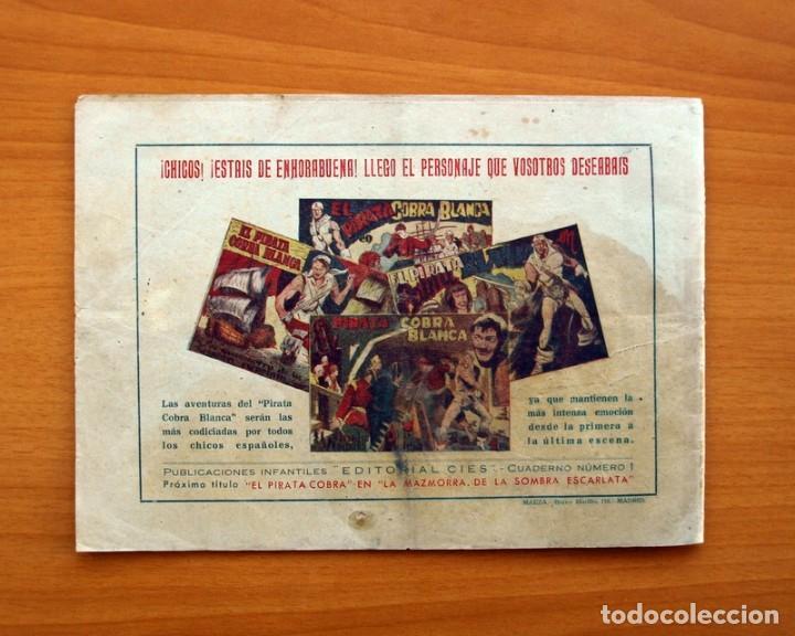 Tebeos: El pirata Cobra Blanca - nº 1, Las viboras humanas del castillo de Alamut - Editorial Cies 1949 - Foto 7 - 100024631