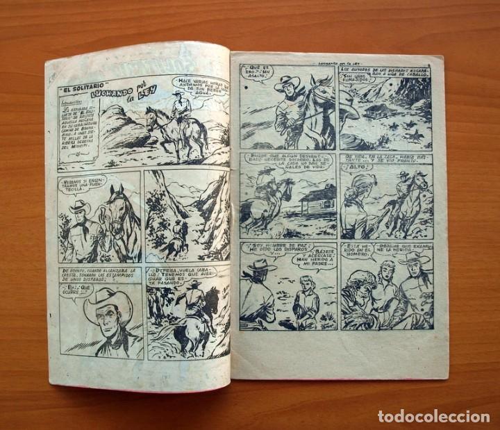 Tebeos: El solitario - nº 1, Luchando por la ley - Editorial Ferma 1958 - Tamaño 24x16 - Foto 2 - 100024983