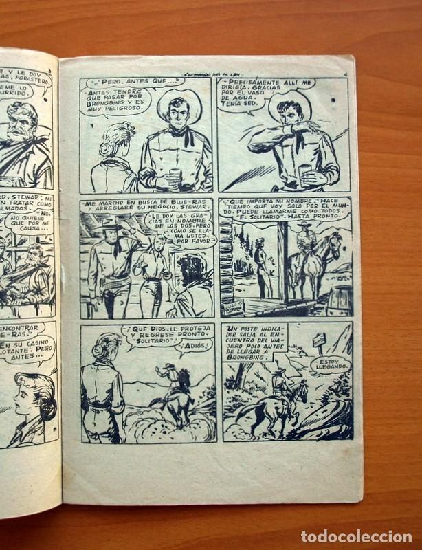 Tebeos: El solitario - nº 1, Luchando por la ley - Editorial Ferma 1958 - Tamaño 24x16 - Foto 3 - 100024983