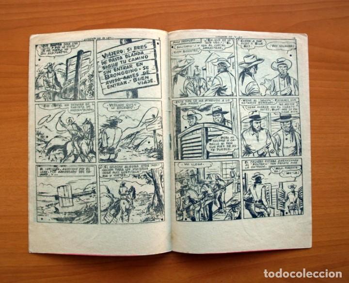 Tebeos: El solitario - nº 1, Luchando por la ley - Editorial Ferma 1958 - Tamaño 24x16 - Foto 4 - 100024983