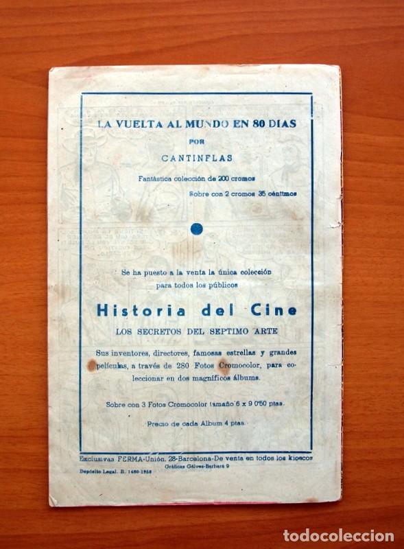 Tebeos: El solitario - nº 1, Luchando por la ley - Editorial Ferma 1958 - Tamaño 24x16 - Foto 7 - 100024983