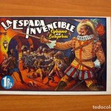 Tebeos: GRANDES HISTORIAS PARA LA JUVENTUD, Nº 1, LA ESPADA INVENCIBLE - ALVARO PÉREZ EDITOR 1945. Lote 100310459