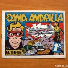 Tebeos: HÉROES DE LA AVENTURA - Nº 1, LA DAMA AMARILLA - EDICIONES ALBERTO GENIES 1949 - TAMAÑO 16X21. Lote 100310755