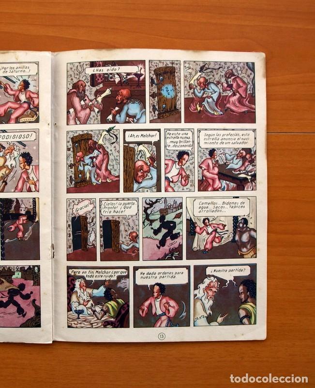Tebeos: La buena nueva - nº 1, El misterio de la cueva - Editorial Cervantes 1957 - Tamaño 25x18 - Foto 6 - 100580155