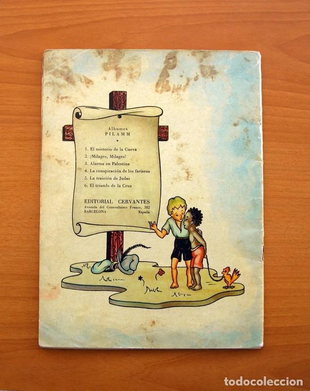 Tebeos: La buena nueva - nº 1, El misterio de la cueva - Editorial Cervantes 1957 - Tamaño 25x18 - Foto 8 - 100580155