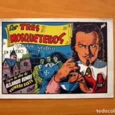 Tebeos: LOS TRES MOSQUETEROS, Nº 1 (PRIMERA PARTE) - EDICIONES CLIPER 1942 - TAMAÑO 17X24. Lote 100584179