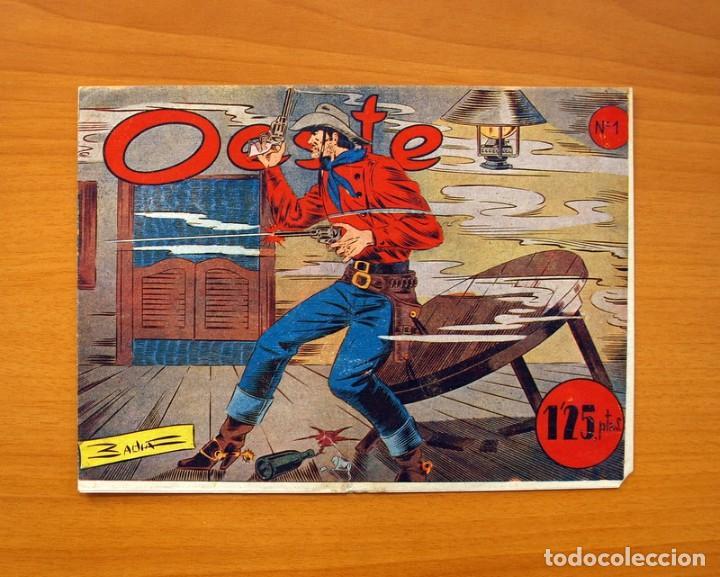 OESTE, Nº 1 - EDITORIAL SIMBOLO 1954 - COMIC SIN ABRIR - TAMAÑO 17X23'5 (Tebeos y Cómics - Números 1)