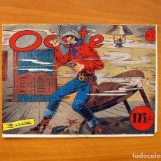 Tebeos: OESTE, Nº 1 - EDITORIAL SIMBOLO 1954 - COMIC SIN ABRIR - TAMAÑO 17X23'5. Lote 100670779