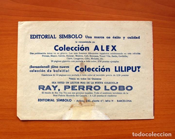 Tebeos: Oeste, nº 1 - Editorial Simbolo 1954 - Comic sin abrir - Tamaño 17x235 - Foto 6 - 100670779