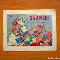 Tebeos: SKANERI, Nº 1 - EDITORIAL MANRAF 1954 - TAMAÑO 16X21. Lote 100727379