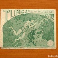Tebeos: TUNGA EL HIJO DE LA SELVA, Nº 1 - EDITORIAL BELTRÁN 1958 - TAMAÑO 11X15. Lote 100896035