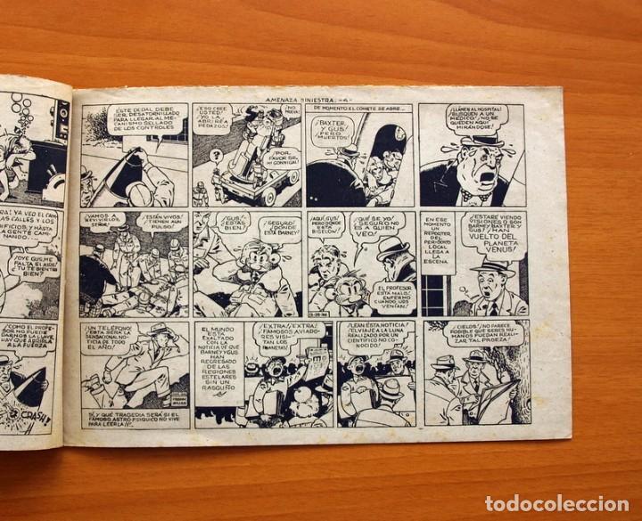 Tebeos: Barney Baxter nº 1, Amenaza siniestra - Editorial Valenciana 1950 - Tamaño 17X24 - Foto 3 - 100985011
