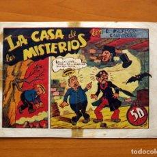 Tebeos: EL PROFESOR CARAMBOLA - Nº 1, LA CASA DE LOS MISTERIOS - EDITORIAL VALENCIANA 1945 - TAMAÑO 17X24. Lote 100991443