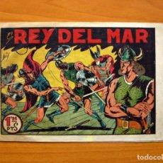 Tebeos: EL REY DEL MAR - Nº 1 - EDITORIAL VALENCIANA 1948 - TAMAÑO 17X24. Lote 100992355