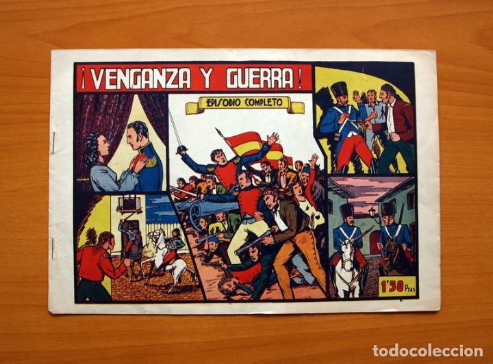 GRANDES AVENTURAS Y PELICULAS - Nº 1, VENGANZA Y GUERRA - EDITORIAL VALENCIANA 1943 - TAMAÑO 21X31 (Tebeos y Cómics - Números 1)