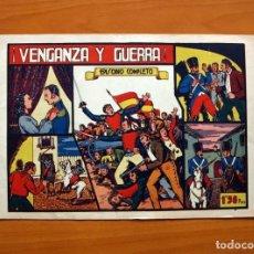 Tebeos: GRANDES AVENTURAS Y PELICULAS - Nº 1, VENGANZA Y GUERRA - EDITORIAL VALENCIANA 1943 - TAMAÑO 21X31. Lote 101042699