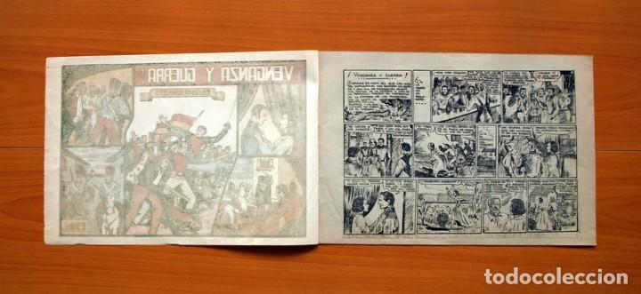 Tebeos: Grandes aventuras y peliculas - nº 1, Venganza y guerra - Editorial Valenciana 1943 - Tamaño 21x31 - Foto 2 - 101042699