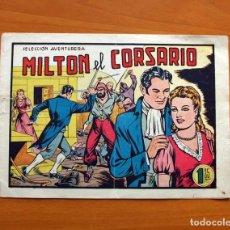 Tebeos: MILTON EL CORSARIO Nº 1 - EDITORIAL VALENCIANA 1956 - TAMAÑO 17X24. Lote 101043643