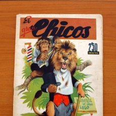 Tebeos: EL GRAN CHICOS - Nº 1 - EDITORIAL C. GIL 1945 - TAMAÑO 29X21. Lote 101055203