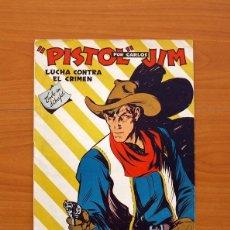 Tebeos: COLECCIÓN MOSQUITO - Nº 1, PISTOL JIM, LUCHA CONTRA EL CRIMEN - EDITORIAL FREIXAS Y CIA 1944 . Lote 101061779