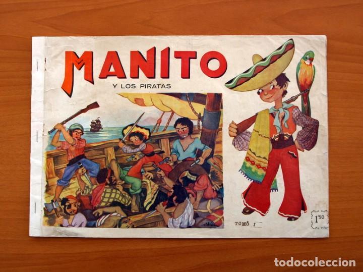 MANITO Y LOS PIRATAS - EDITORIAL ARPA, AÑOS 40 - TAMAÑO 21'5X31'5 (Tebeos y Cómics - Números 1)