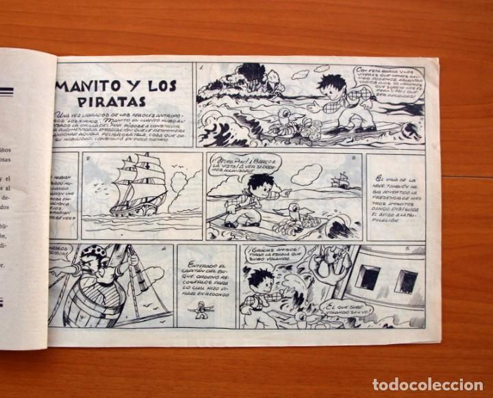 Tebeos: Manito y los piratas - Editorial Arpa, años 40 - Tamaño 215x315 - Foto 3 - 101062155
