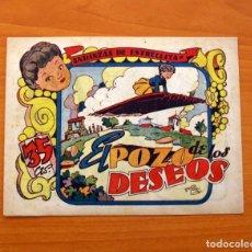 Tebeos: ANDANZAS DE ESTRELLITA, Nº 1, EL POZO DE LOS DESEOS - EDITORIAL AMELLER 1946 - TAMAÑO 16X21'5. Lote 101078971