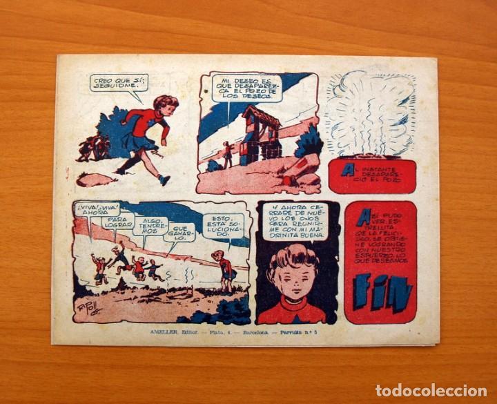 Tebeos: Andanzas de Estrellita, nº 1, El pozo de los deseos - Editorial Ameller 1946 - Tamaño 16x215 - Foto 6 - 101078971