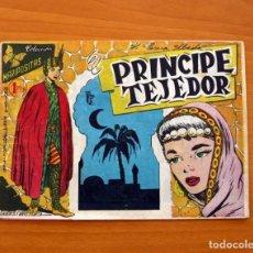 Tebeos: COLECCIÓN MARIPOSITAS, Nº 1, EL PRÍNCIPE TEJEDOR - EDITORIAL ROLLAN 1958 - TAMAÑO 15'5X21'5 . Lote 101079627