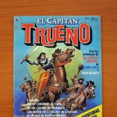 Tebeos: EL CAPITÁN TRUENO, Nº 1 - EDITORIAL BRUGUERA 1986 - TAMAÑO 27'5X21. Lote 101364499