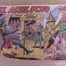 Tebeos: EL AGUILUCHO Nº 1 EDITORIAL MAGA ORIGINAL. Lote 101364867