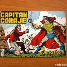 Tebeos: EL CAPITÁN CORAJE - Nº 1, EL JUSTICIERO - EDICIONES TORAY 1958 - TAMAÑO 17X24. Lote 101432403