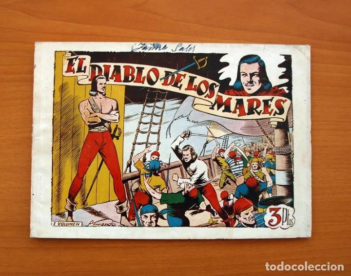 EL DIABLO DE LOS MARES - ÁLBUM - Nº 1 - EDICIONES TORAY 1949 - TAMAÑO 17X24 (Tebeos y Cómics - Números 1)