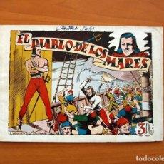Tebeos: EL DIABLO DE LOS MARES - ÁLBUM - Nº 1 - EDICIONES TORAY 1949 - TAMAÑO 17X24. Lote 101432659