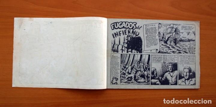 Tebeos: El diablo de los mares - álbum - nº 1 - Ediciones Toray 1949 - Tamaño 17x24 - Foto 2 - 101432659